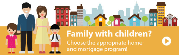 Choose the appropiate home and mortgage
